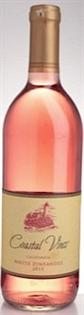 Coastal Vines White Zinfandel 2015 750ml - Case of 12